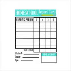 Free Printable Report Card Template sample homeschool report card 5 documents in pdf word