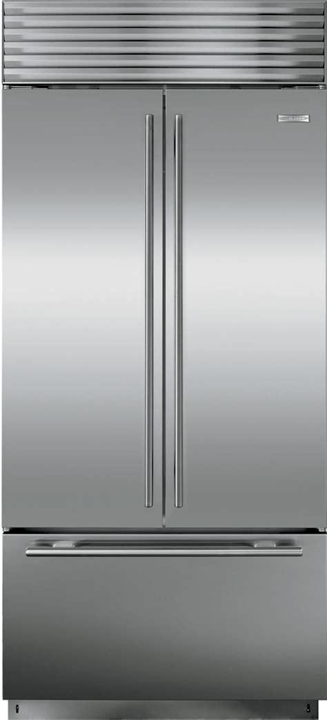 sub zero 36 inch kühlschrank sub zero bi36ufdsth 36 inch built in door
