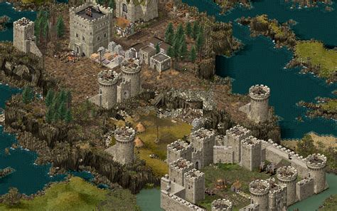 House Building Games Online stronghold hd and stronghold crusader hd coming november 1st