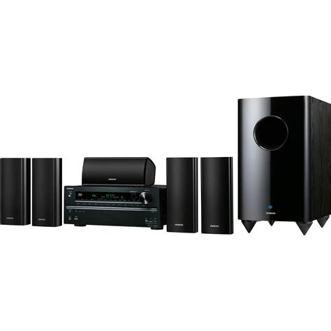 onkyo ht s7409 home theater system ht s7409 b h photo