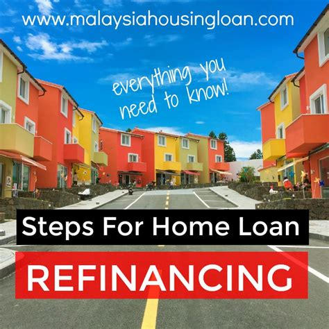 steps for home loan refinancing everything you need to