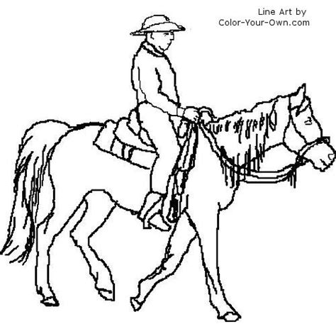 coloring pages horse and rider horse and rider coloring pages horse breeds coloring pages