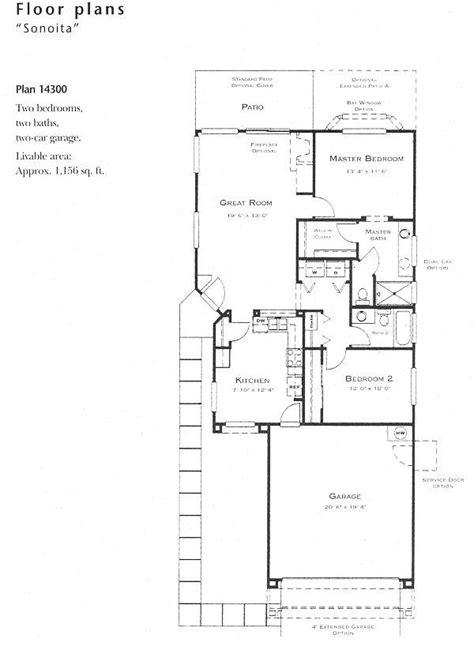 model floor plans sonoita model floor plan