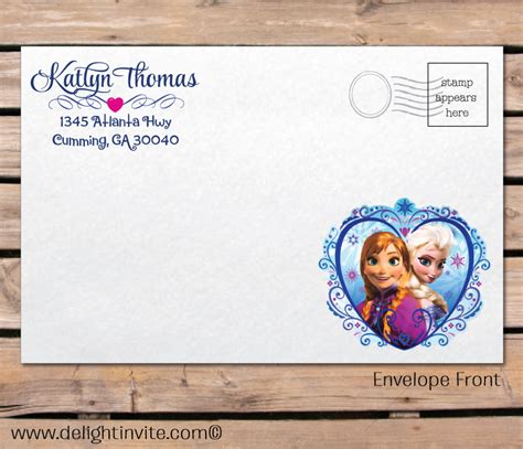 frozen printable greeting card frozen birthday greeting cards party invitations ideas