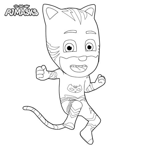 catboy pj masks coloring pages top 30 pj masks coloring pages
