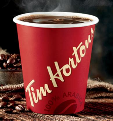 caffeine in hot chocolate tim hortons