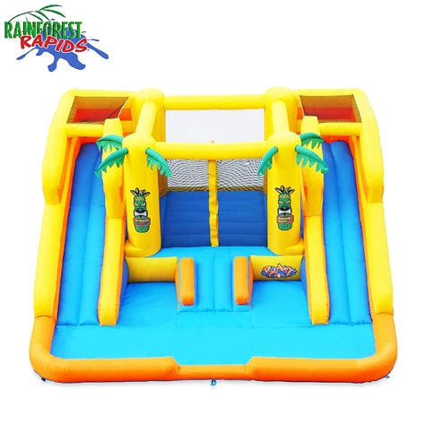 bounce house with waterslide bounce house water slide combo games info