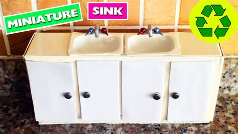 play kitchen with working sink diy miniature kitchen sink with doors that open and
