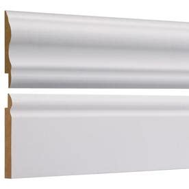 Evertrue 3 In X 8 Ft Prefinished Vinyl Lip Wall Panel Moulding - shop wall panel moulding at lowes
