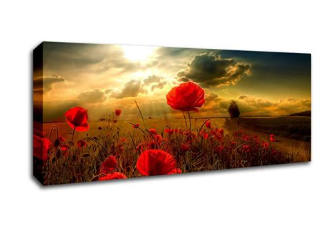 landscape canvas prints sunlight landscape panoramic panel canvas panoramic canvas