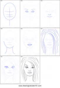 How To Draw how to draw barbie face printable step by step drawing sheet