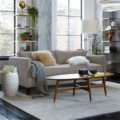 west elm dunham sofa blank space