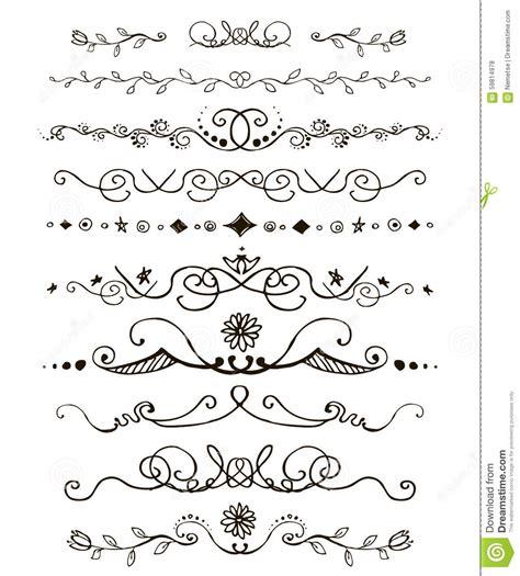 free doodle border vector doodles border stock vector illustration of card doodle