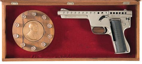 Mba Consignment Sale by Mba Gyrojet I Pistol Firearms Auction Lot 683
