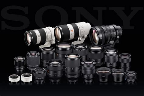 Sony Lenses   Daily Camera News