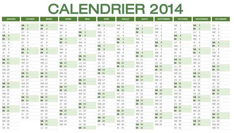 Calendrier Annuel 2014 Calendrier 2014 224 Imprimer Et T 233 L 233 Charger