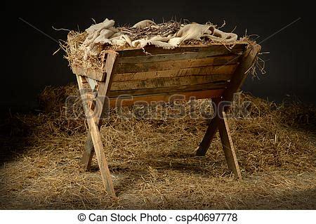 e leere stall manjedoura espinhos coroa manjedoura mortos baseado nascimento coroa conceito jesus