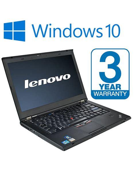 Laptop Lenovo Windows 10 lenovo thinkpad t420 laptop i5 2 67ghz 8gb 1tb 14 quot windows 10 dvd rw 3 year warranty