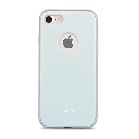 moshi iglaze cover for iphone 7 8 powder blue shop and