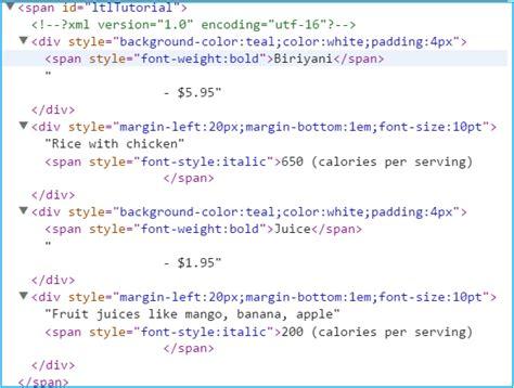 format xml html display display xml data as html using xsl transformation in asp net
