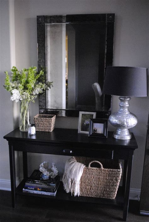25 best ideas about hallway tables on entry