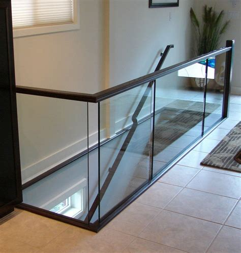 glass banister rails glass banister rails indoor handrails
