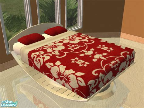 hibiscus bedding iria s red hibiscus bedding and beige bed frame