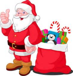 Merry christmas santa claus cartoon picture