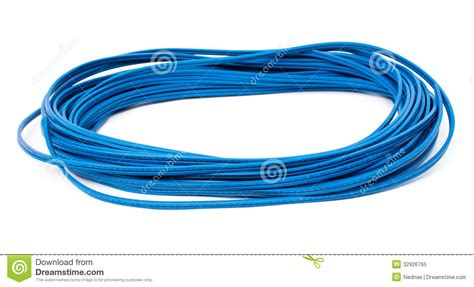 blue electric wire royalty free stock photo image 32926765
