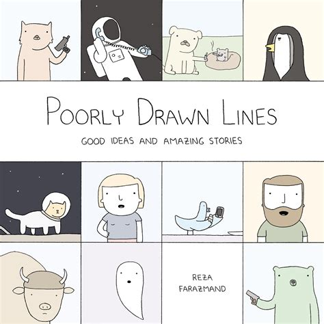 poorly drawn lines by reza farazmand at inkwell management literary agency