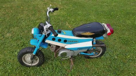 Suzuki Trailhopper by 1972 Suzuki Mt 50 Trailhopper Ebay No Reserve Auction