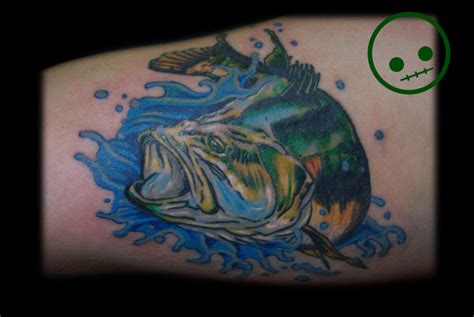 gallery for gt bass skeleton tattoos