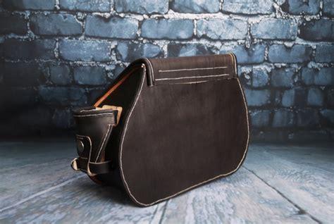 Custom Handmade By St - custom handmade harley davidson sportster saddlebags 1
