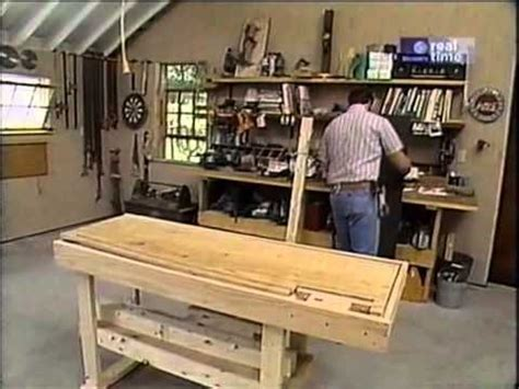 yankee workshop norm abram build  workbench