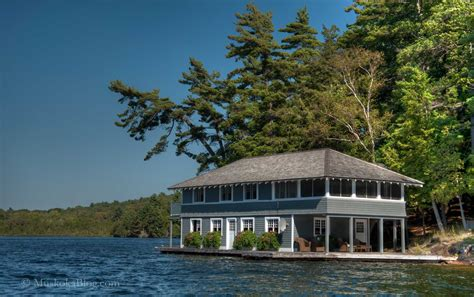 Cottage Building boathouses muskoka blog