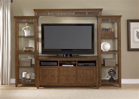 Craftsman Entertainment Center Wood Furniture Tv Stands Living Room Entertainment Furniture