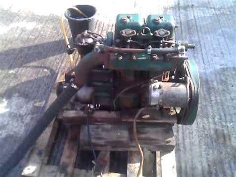 volvo penta mda hp marine diesel engine youtube