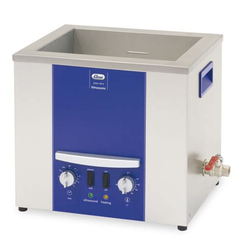 x tra elma elmasonic x tra 30h 3 litres analogue ultrasonic bath with sweep drainage and heating