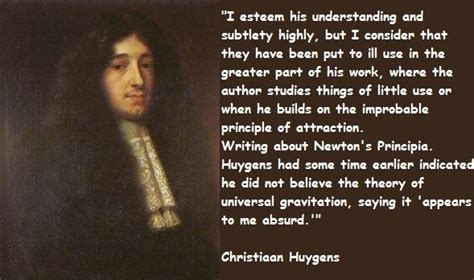 Christiaan Huygens Quotes