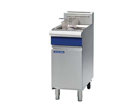 Fryer Multi 18 blue seal evolution series gt18 400mm single pan gas fryer moffat