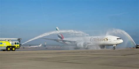 emirates harare new airline routes launched 31 january 6 february 2012