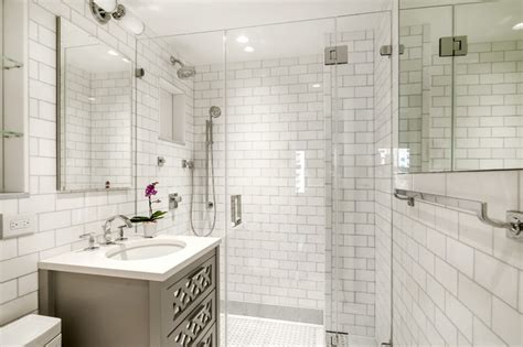 bathroom tile ideas houzz west side condominium renovation traditional