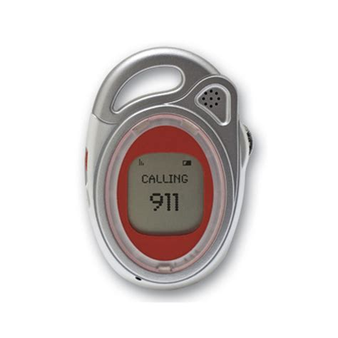 911 Emergency Detox by Emergency 911 Help Alert Cellular Pendant With Lcd