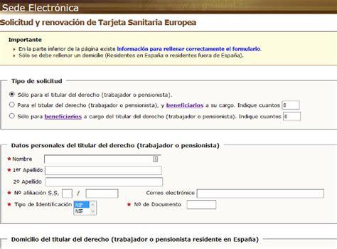 afiliacion de la empresa o centro de trabajo al infonacot c 243 mo solicitar la tarjeta sanitaria europea tse por