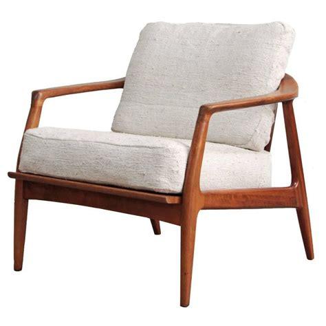 milo baughman lounge chairs milo baughman teak lounge chair at 1stdibs