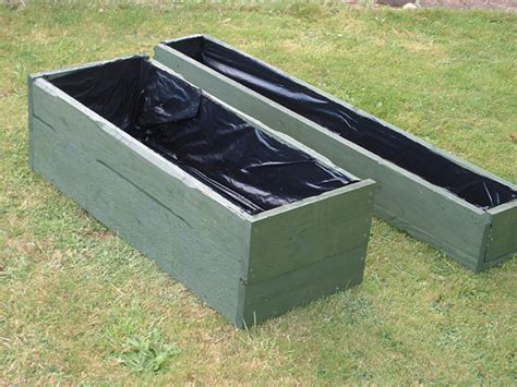 Planter Troughs by Made Wooden Troughs And Planters Made From Reclaimed And Recycled Wood Reducing Waste And