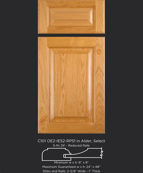 solid maple cabinet doors hard maple and soft maple cabinet door comparison by