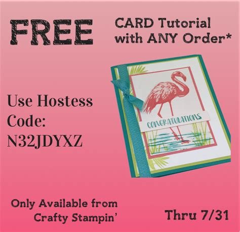tutorial carding online shop current hostess code crafty stin