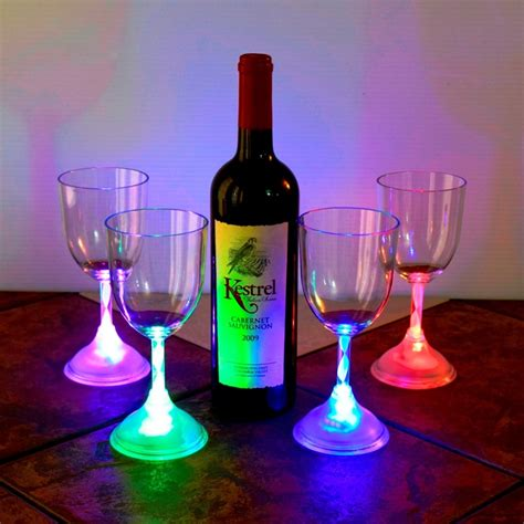 what is a light wine led light up wine glass eternity led glow