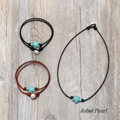Handmade Chokers - aobei pearl handmade choker necklace with freshwater